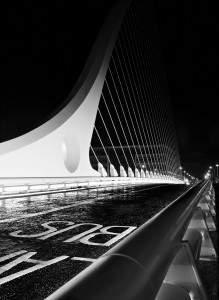 Taken on the Samuel Beckett bridge.