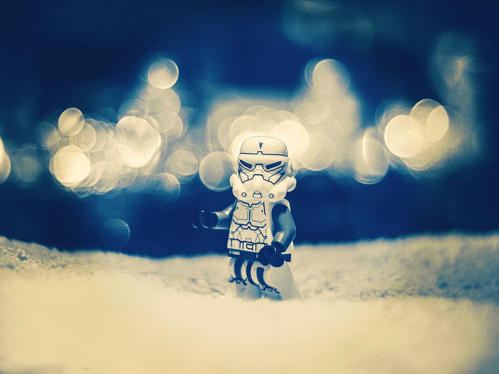 Stormtrooper bokeh